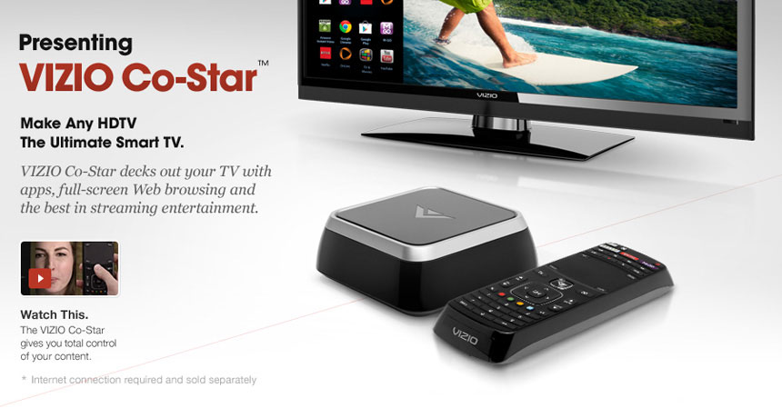 Vizio co star remote
