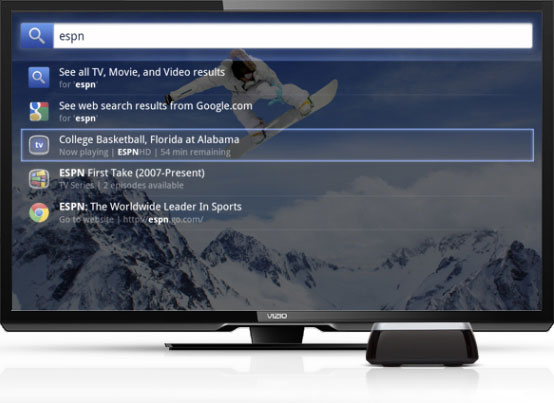 interface thats as intuitive as it is smart merging live tv and streaming content it allows you to enjoy full screen web browsing and multi task with - Visio Costar