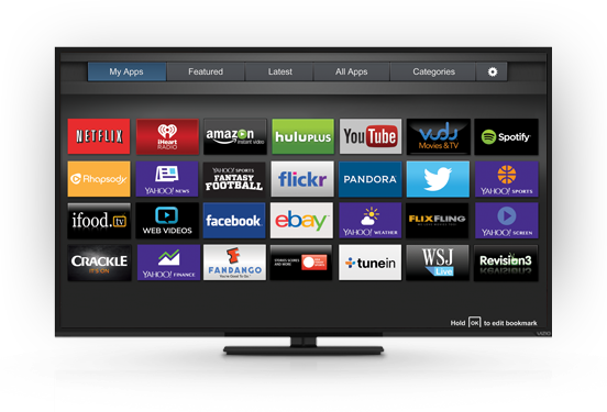how to download apps on vizio smart tv