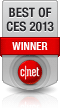 Cnet Best of CES 2013