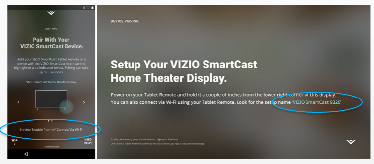 wifipair vizio smartcast setup faq's vizio tv wiring diagram at n-0.co