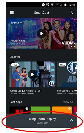 How to use the VIZIO SmartCast Mobile application as a Remote
