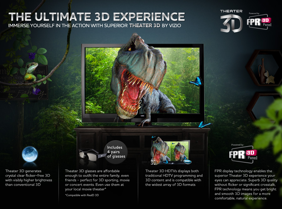 The ultimate 3D experience