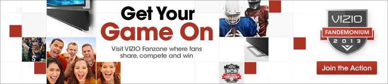 College Football Match Up. Lead your team to victory by making the most noise!