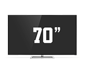 "VIZIO M-Series 70"" LED Smart TV with Theater 3D"