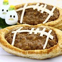 Football fan meat pies recipe