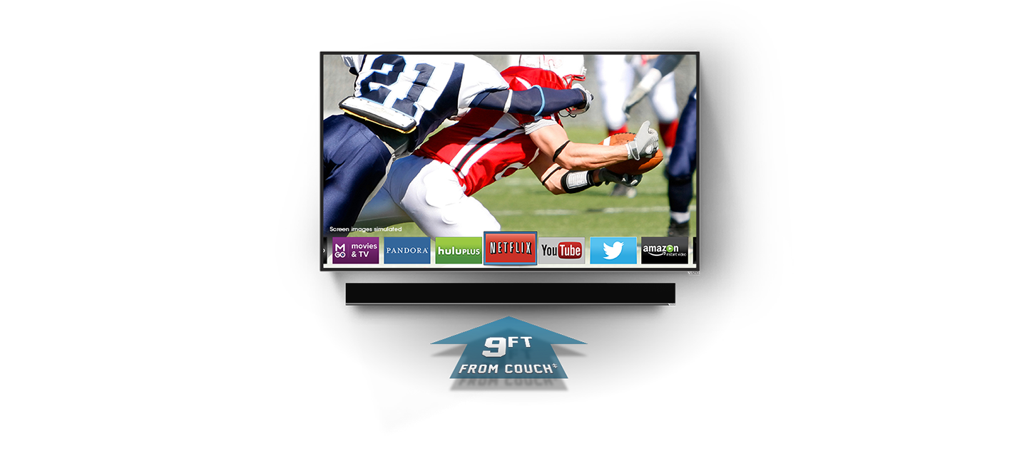 VIZIO M-Series LED Smart TV with Theater 3D