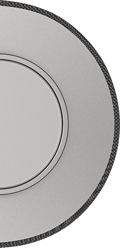 Top-down view of Crave Pro Speaker