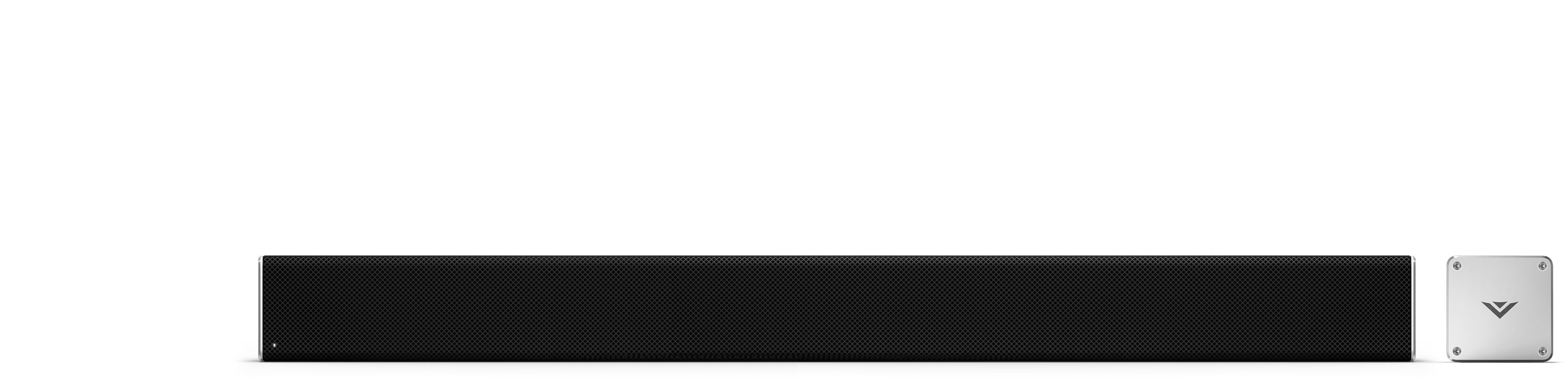 Right half and end caps of sound bar