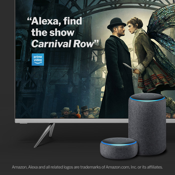 VIZIO TV Featuring Alexa