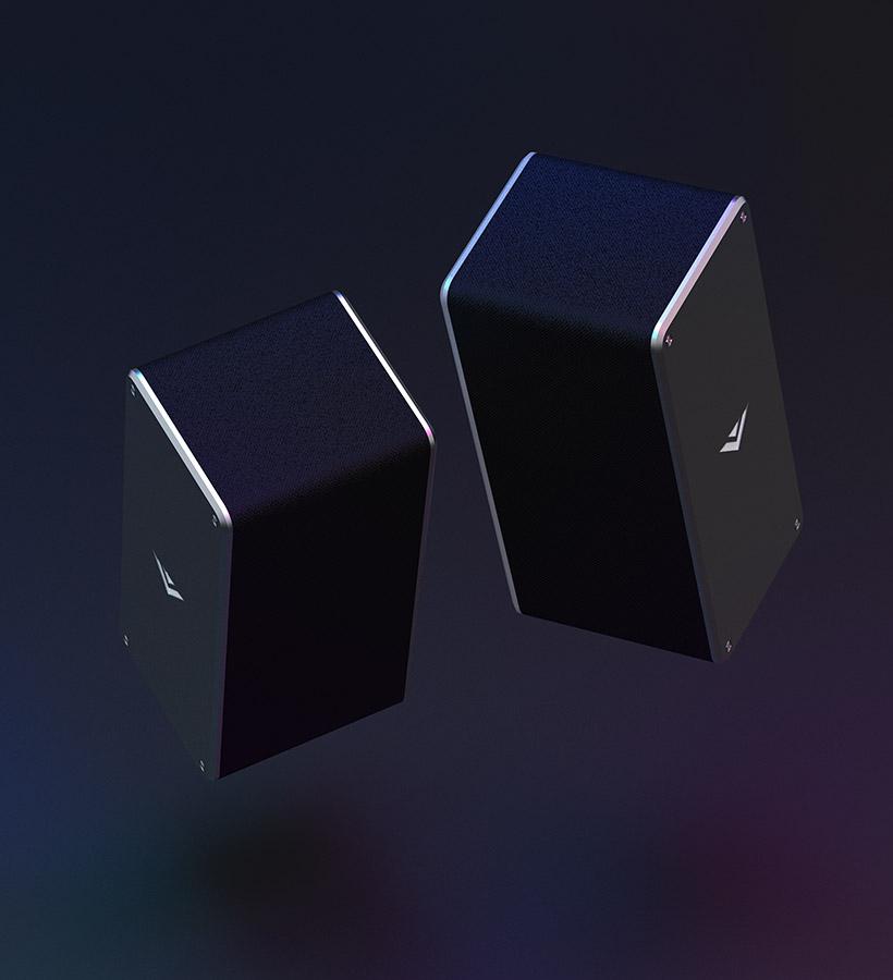 image of sat speakers.