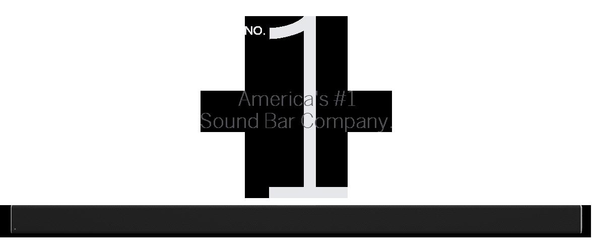 America's #1 soundbar company