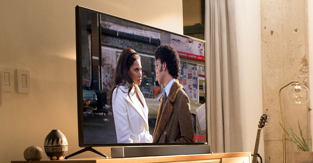 Soundbar pairs perfectly with your tv