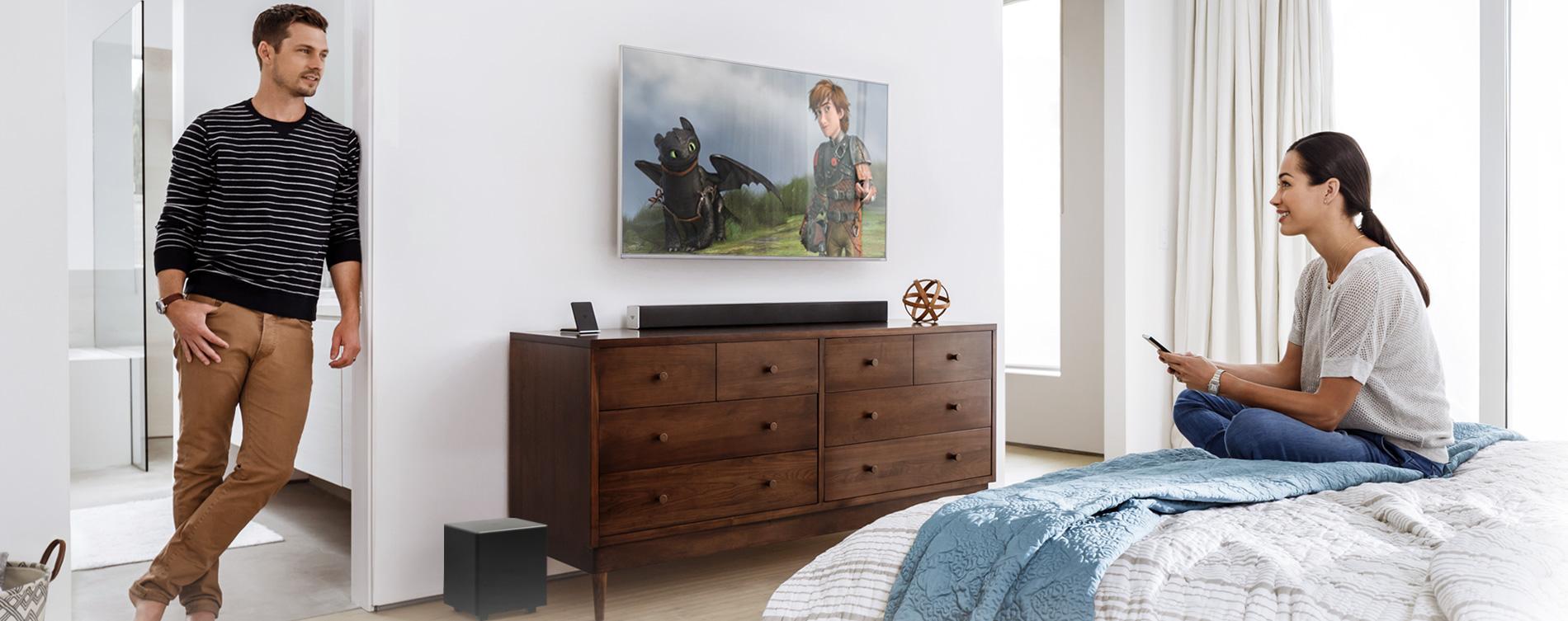 Vizio Smartcast 38 2 1 Sound Bar System Sb3821 D6 Vizio