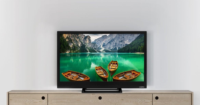 vizio tv 24 inch. the new vizio d-series edge-lit led tv brings you hd entertainment with a brilliant picture in an ultra-thin design at incredible value. vizio tv 24 inch 1