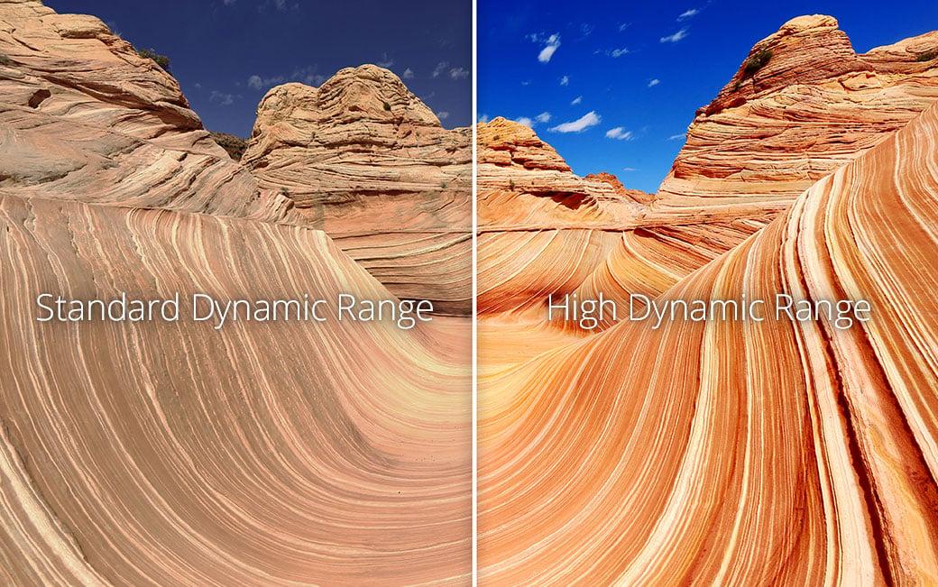 SDR versus HDR