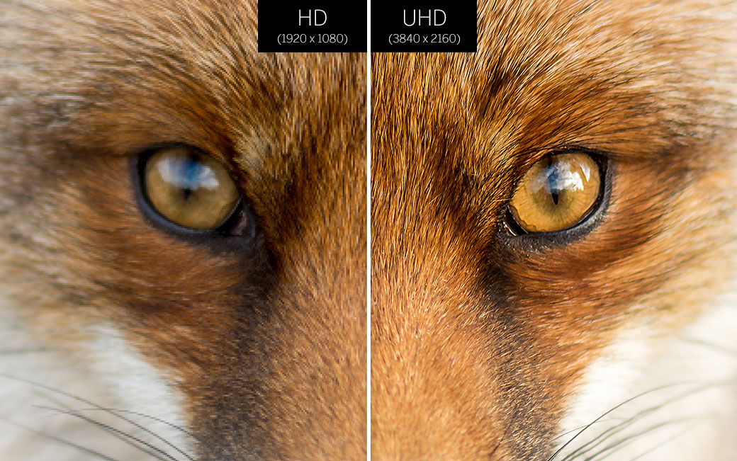 HD versus UHD