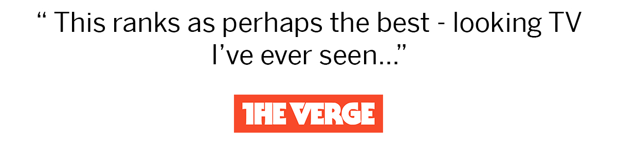 The Verge VIZIO R-Series Review