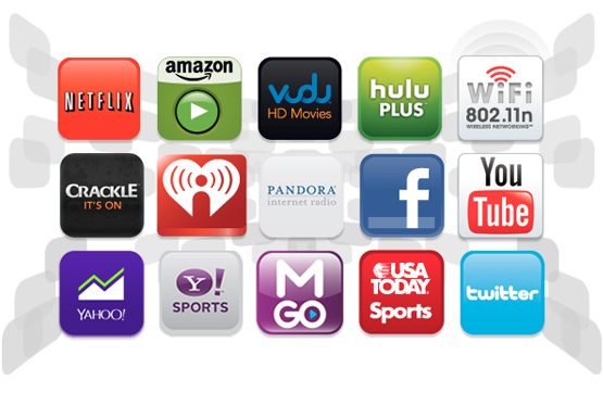 Smart TV with Wi-Fi