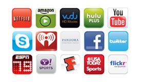 VIA™ (VIZIO Internet Apps)