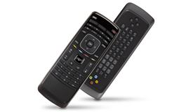 Enhanced 2-sided Remote with Keyboard